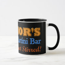Parkinson's Tremor's Martini Bar Shaken Design Mug