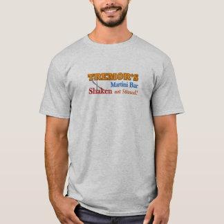 Parkinson's Tremor's Martini Bar Shaken Design T-Shirt