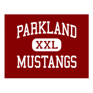 Parkland - Mustangs - High - Winston Salem Postcard