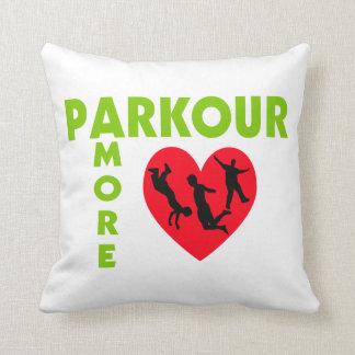 Parkour Amore con el corazón Almohada