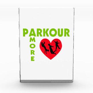 Parkour Amore con el corazón
