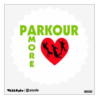 Parkour Amore con el corazón Vinilo