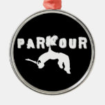 Parkour Athlete Ornament