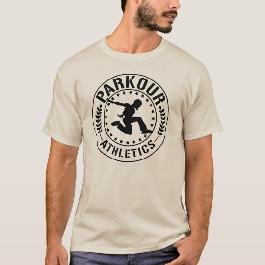 Parkour Athletics blk 2 T-Shirt