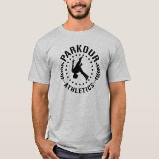 Parkour athletics text blk T-Shirt