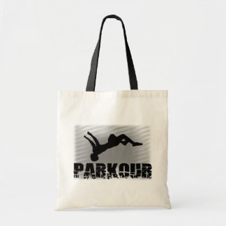 Parkour budget tote bag
