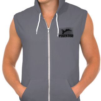 Parkour  California Fleece Sleeveless Zip Hoodie