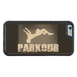 Parkour Carved Maple iPhone 6 Bumper Case