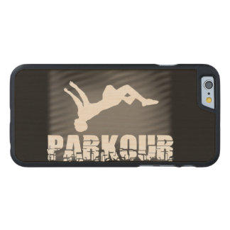 Parkour Carved Maple iPhone 6 Case