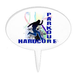 Parkour corriente libre incondicional figuras de tarta