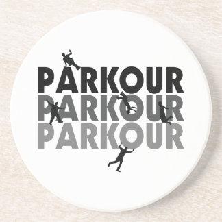 Parkour Free Running Beverage Coaster