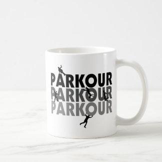 Parkour Free Running Classic White Coffee Mug