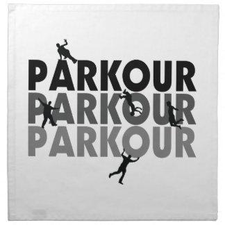 Parkour Free Running Napkin