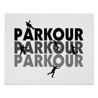 Parkour Free Running Posters