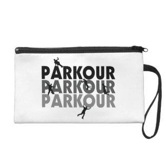 Parkour Free Running Wristlet Purse