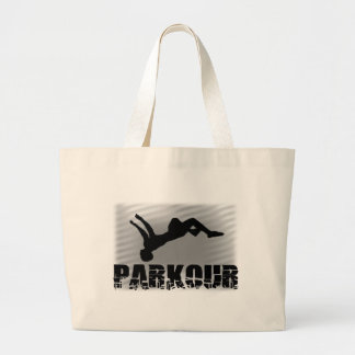 Parkour Large Tote Bag