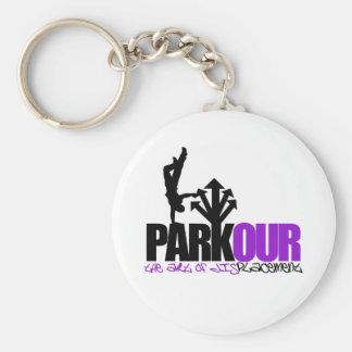Parkour Llaveros Personalizados