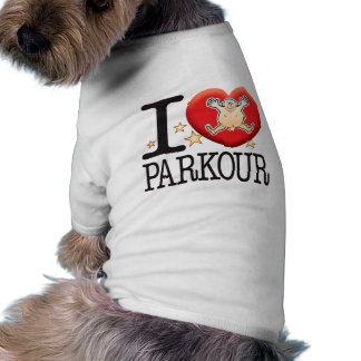 Parkour Love Man Shirt