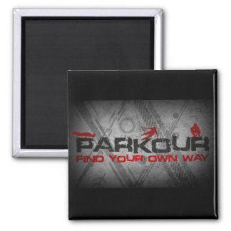 Parkour Magnet - customized background color
