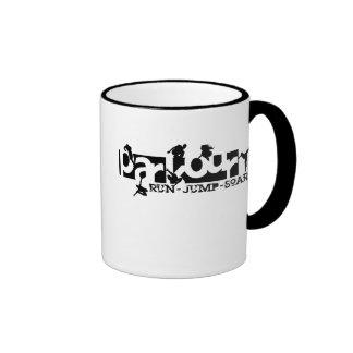 Parkour Ringer Coffee Mug