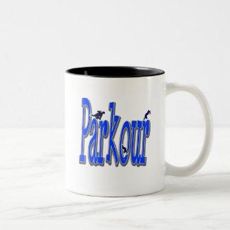 Parkour Two-Tone Coffee Mug