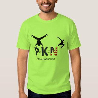 Parkour Nation USA T Shirt