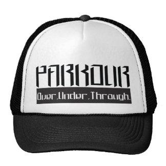 Parkour O.U.T. Black Trucker Hat