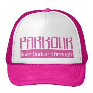 Parkour O.U.T. Pink Trucker Hat