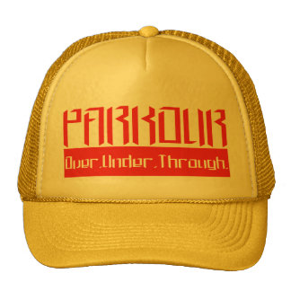 Parkour O.U.T. Yellow Trucker Hat