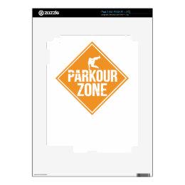 Parkour Runaway Extreme Sports Stunt Free Running iPad 2 Skin