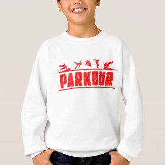 Parkour Runaway Extreme Sports Stunt Free Running Sweatshirt