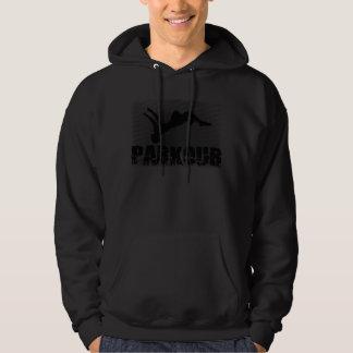 Parkour Suéter Con Capucha