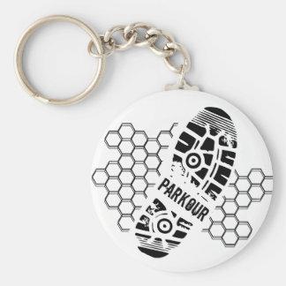 Parkour Training Keychain