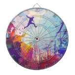 Parkour Urban Free Running Free Styling Sports Art Dart Board