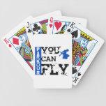 Parkour - usted puede volar baraja de cartas