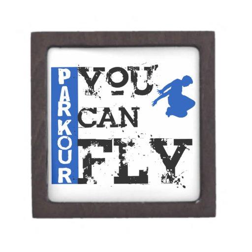 Parkour - usted puede volar caja de recuerdo de calidad