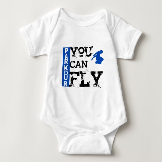 Parkour - You Can Fly Baby Bodysuit