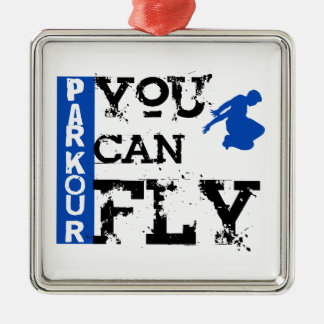 Parkour - You Can Fly Metal Ornament