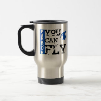Parkour - You Can Fly 15 Oz Stainless Steel Travel Mug