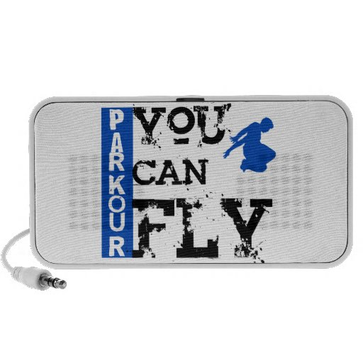 Parkour - You Can Fly Notebook Speakers