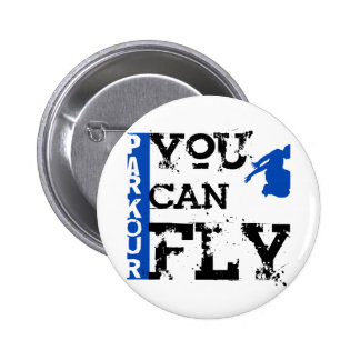 Parkour - You Can Fly Pinback Button