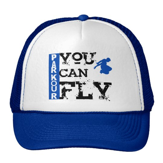 Parkour - You Can Fly Trucker Hat