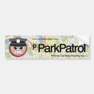 ParkPatrol Bumper Sticker