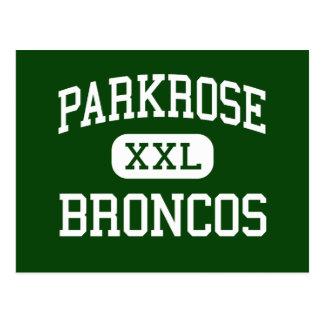 Parkrose - Broncos - High School - Portland Oregon Postcard