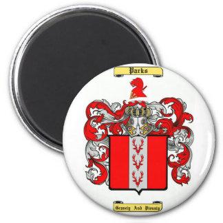 parks 2 inch round magnet