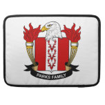 Parks Family Crest MacBook Pro Sleeve