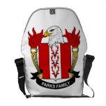 Parks Family Crest Messenger Bags