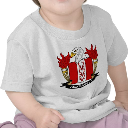 Parks Family Crest Tee Shirt
