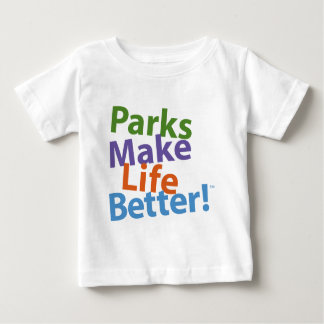 Parks Make Life Better! Official Logo Baby T-Shirt