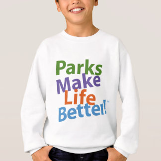 Parks Make Life Better! Official Logo Sweatshirt